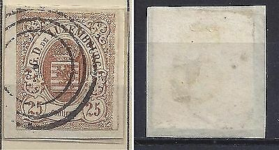 LUXEMBOURG 8 USed Circles cancel