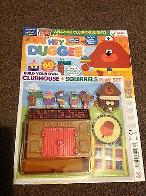 HEY DUGGEE Magazine #12 - DOUBLE GIFT SPECIAL clubhouse and squirrels playset