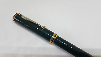 "Rare Used Vintage Sheaffer Connaisseur 813 Green Body Fountain Pen 18K Nib ""b"""