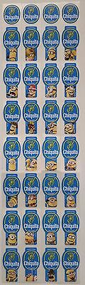 (C11) Despicable Me 2 Minions Ecuador Chiquita Banana Stickers Full Set Of 28