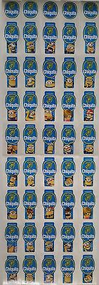 (C01) Despicable Me 2 Minions Costa Rica Chiquita Banana Stickers Full Set Of 28
