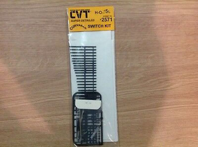 Central Valley Model Works HO scale code 70 switch kit. #5 Left