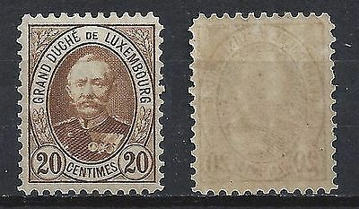 LUXEMBOURG 61 Type a Mint Never Hinged