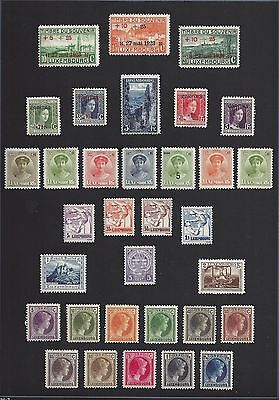 LUXEMBOURG lot B Mint Hinged - Used