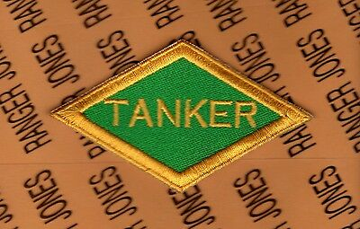 US Army TANKER Diamond Armor Tank WWII style patch