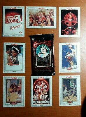 1993 Coca Cola Collectors Cards Opened Box Unsealed  Series 1 # 002