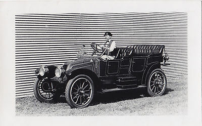 1911 Franklin air cooled automobile Pioneer Museum WETASKIWIN Alberta RPPC