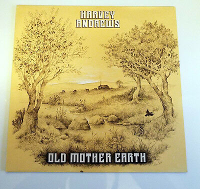 Harvey Andrews - Old Mother Earth - Rare UK Folk LP Beeswings label 1984 signed