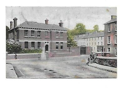 BANDON Bank Place Early Ireland County Cork Postcard 1907 Postmark
