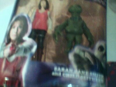 Sarah Jane Adventures Sarah Jane and Child Slitheen ( New Sealed ) Doctor Who