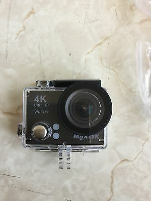 Maxtek 4K Action Camera with LCD screen, mounts