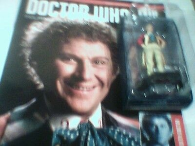 DOCTOR WHO FIGURINE COLLECTION # Issue 65 The Sixth Doctor(Colin Baker)NEW