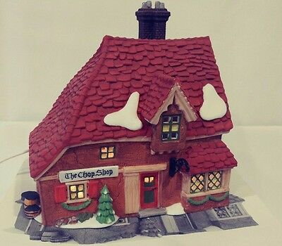 "Dept 56 Dickens' Village Series ""The Chop Shop"" #58331"