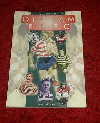 Oldham rugby league book