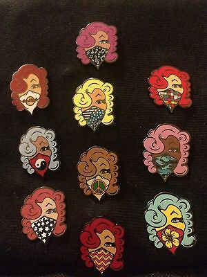 2016 Hard Rock Street Artist Emilio Ramos Complete  Mystery 10 Pin Series