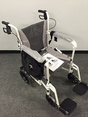 Medline Elite Transport Wheelchair