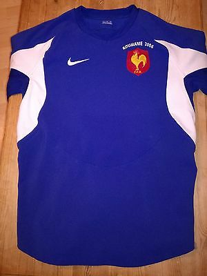 France Match Worn Rugby Shirt /jersey/maillot- (Clermont) Look!!