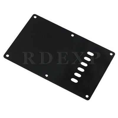 BACK PLATE FOR ELECTRIC GUITAR Black 6 Hole