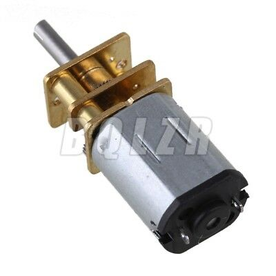 Metal  GA12-N20 Silver  DC12v Mini 2000RPM Speed Gear Electric Motor Gearwheel