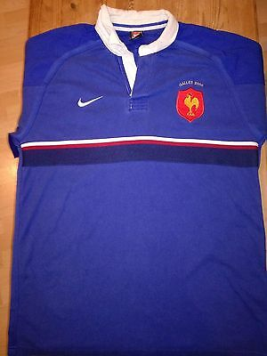 France Match Worn Rugby Shirt /jersey/maillot- (Toulouse) Look!!