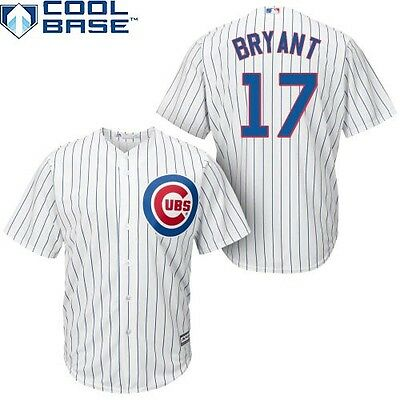 Kris Bryant Chicago Cubs MLB Cool Base Premier Jersey Youth Large 14/16 D36