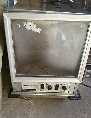 Toastmaster Non-Insulated Heater Proofer Mobile Cabinet 12 Pan Capacity - E9451-