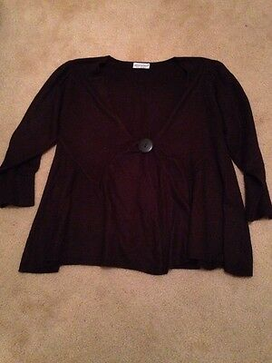 Brown Maternity Cardigan Size 8-10