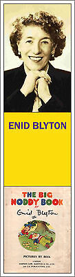 Enid Blyton Bookmarks Noddy Secret Seven Famous Five Malory Towers & More