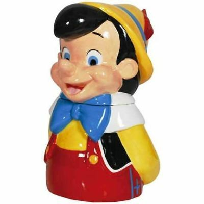 Westland Giftware Ceramic Cookie Jar, 11-Inch, Disney Pinocchio NIB