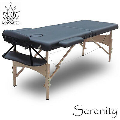 "85"" Portable Folding Massage Table-Deluxe Salon Spa Bed"