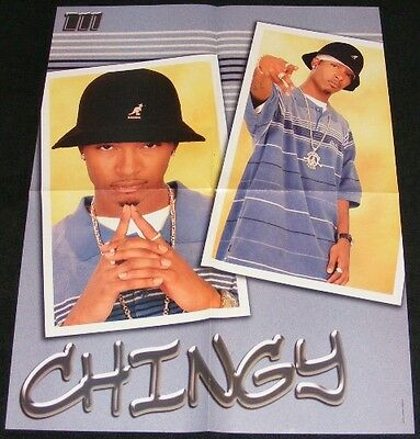 CHINGY magazine clippings lot with POSTER Howard Bailey Jr