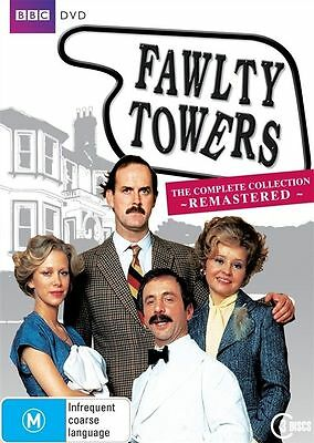 Fawlty Towers - The Complete Remastered (DVD, 2009, 3-Disc Set)