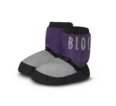 Bloch Warm Up Boots NWT Purple/Gray IM009 Adult XS