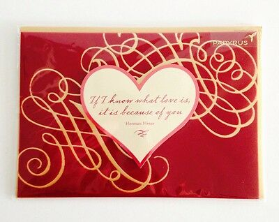 Papyrus Valentines Day Romance I Love You Greeting Cards