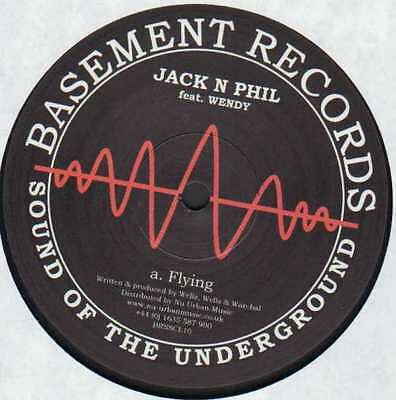 "12""uk**jack N Phil - Flying / Smooth But Hazardous - Smooth But Hazardous**23304"