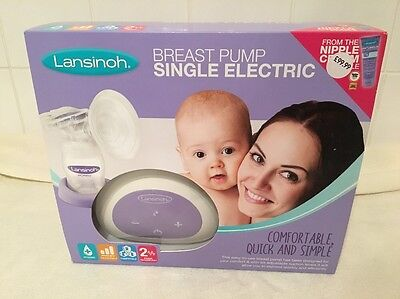 Lansinoh Single Electric Breast Pump 2 PHASE