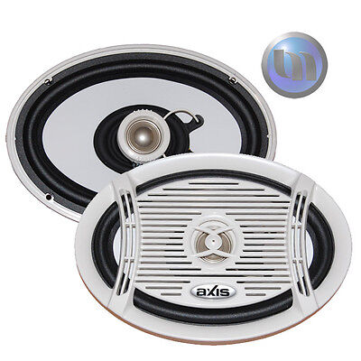 Axis Marine 6x9 2-Way Audio 200w Water & Rust Resistant Speaker system MA 6902