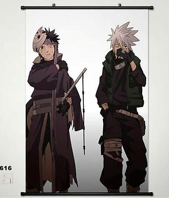 Naruto Shippuden Kakashi Hatake Home Decor Wall poster Scroll 40x60cm