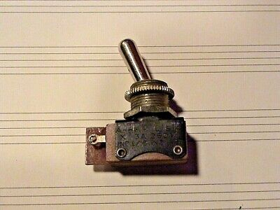UND LAB INSP H&H 250v 3A 125v 6A USA MADE VINTAGE2-Pole Toggle Switch NOS