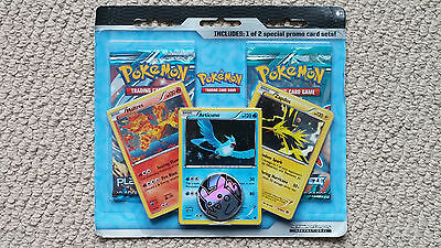 PLASMA FREEZE/STORM/DESTINIES Blister Pokemon Booster Pack Moltres Articuno