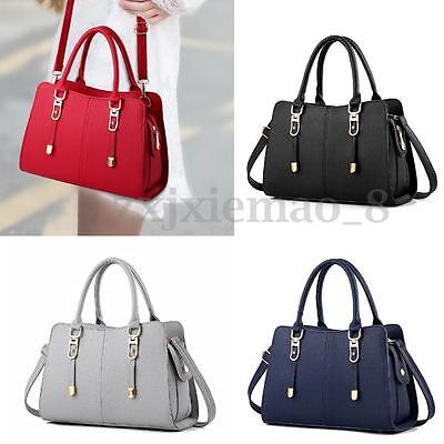 Women Leather Handbag Shoulder Lady Messenger Satchel Tote Bag Crossbody Satchel