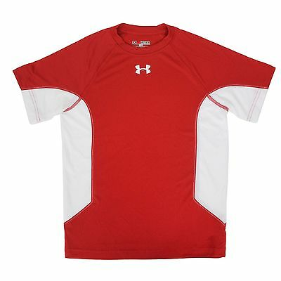 Under Armour Boy's Recruit T-Shirt T-Shirt Red/White M