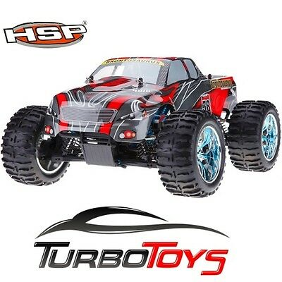New - Hsp Rc 1/10 2.4Ghz 4Wd Brushed Monster Truck 94111 - 88030 - Hobby Product