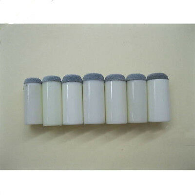 10 New 13Mm Size Assorted Slip On Pool Cue Stick Tips  7Sq