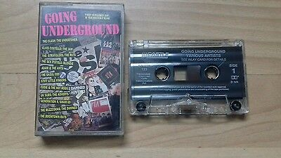 Going Underground Cassette - The Sound Of A Generation Compilation