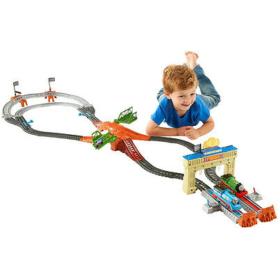 Thomas & Friends TrackMaster Thomas and Percy Motorised Railway Race Set