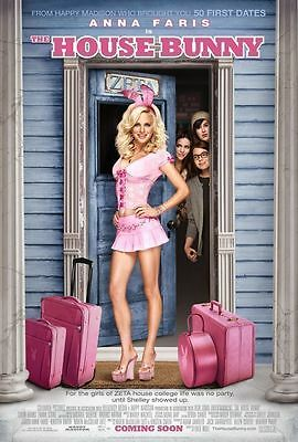 THE HOUSE BUNNY 11.5x17 PROMO MOVIE POSTER