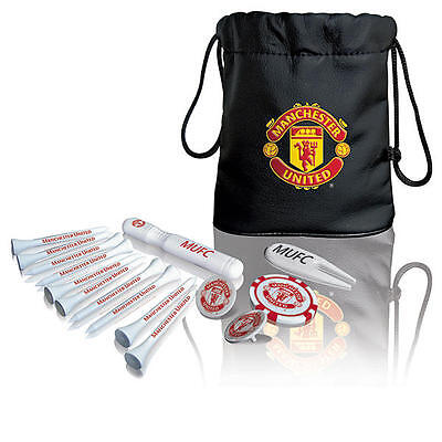 Manchester United Golf Tote Bag And Accessories - Golf Gift Set