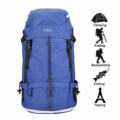New! Mixi Lightweight Expandable Water-Resistant Travel Hiking Backpack Daypack