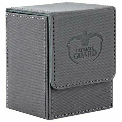 Deck Box Ultimate Guard Flip Deck Case 100+ Special Edition XENOSKIN™ Grey